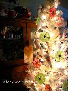 cupcake wrapper ornaments