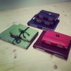 handmade leather sketchbooks