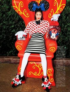Models Show Their Disney Side in Vogue Japan // Inspired By Dis