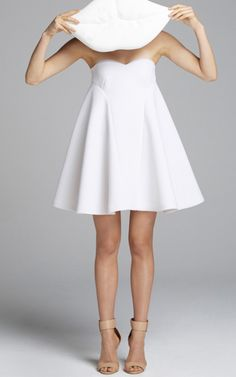 Like Nonsense Dress In White by Alice McCall for Preorder on Moda Operandi