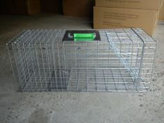 Humane Possum Cage , Feral Cat And Rabbit, Animal Friendly Trap - Brand New