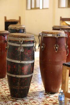 Old Cuban Drums