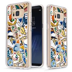 Portuguese Mosaic Tiles [v2] Slim Protective Case for Galaxy S8
