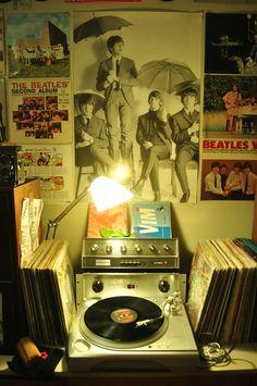 a little #vinyl setup with The Beatles