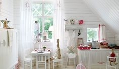 Thinking of Charlie....Nordic Style Kid Room (seen in Chiquitines.Com)