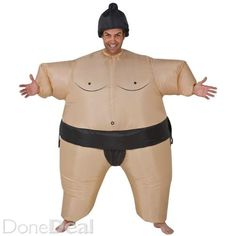 halloween sumo costume air suitFor Sale in Roscommon : €10 - DoneDeal.ie
