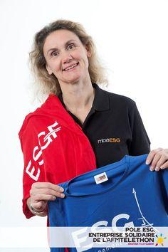 Le pôle ESG, école solidaire du Téléthon 2012    Crédit photo : AFM/Christophe Hargoues
