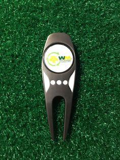 Waste Management Open TPC Scottsdale Golf Ball Marker & Divot Tool, 2 Markers  | eBay