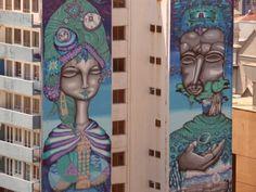 Arte mural en Valparaíso, Chile