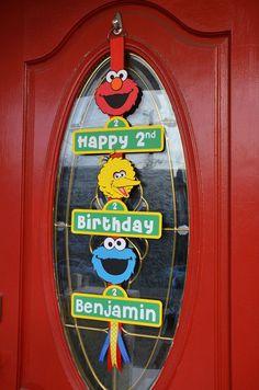 Sesame Street 2nd birthday party: