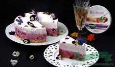 Tort cu Mascarpone si Afine cu Blat de Biscuiti Cheesecakes, Desserts, Food, Mascarpone, Cooking, Tailgate Desserts, Deserts, Essen, Cheesecake