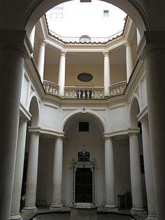 San Carlino - Convento de los Trinitarios - Borromini