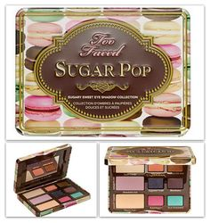PEEP PEEP New Beauty  News Post Alert!! All you need to know about the new Too Faced Sugar Pop Eye Palette with a little chart with all the names of the shades and hues on it not to mention the price, where to get it and my personal opinion :))  - Reem Noobo