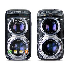 Samsung Galaxy S3 Phone Case Cover Decal  Vintage by skunkwraps, $9.95 For Evy!!!
