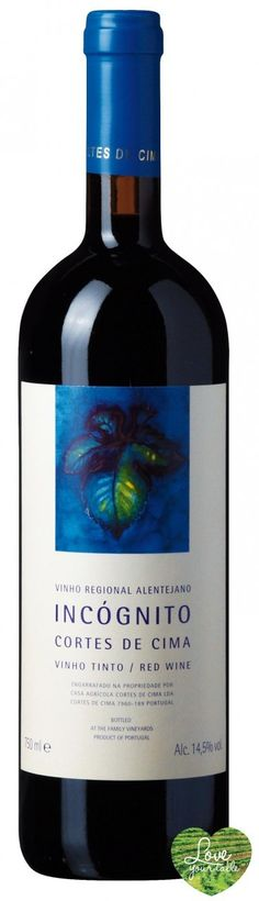 Love Your Table - Incognito Red Wine 2009, €77,99 (http://www.loveyourtable.com/Incognito-Red-Wine-2009/)