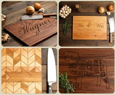 FOR JULIE Custom Personalized Giving Tree Cutting Board by woodink
