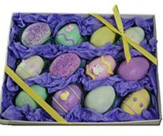 Cake Truffles - Easter Egg Designs, Gift Box of 12