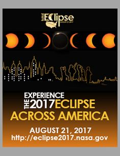 2017 Eclipse across America web banner, size black background Solar Eclipse Facts, Solar Eclipse Activity, Solar Eclipse 2017, Earth And Space Science, Science And Nature, Sixth Grade Science, Total Eclipse, Moon Photography, School Days