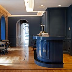 Blue joinery