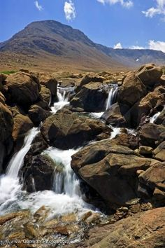 Picture of Tablelands Waterfall Gros Morne National Park