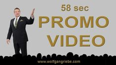 Promo Video 58 Sex Keynote Teaser: Wolfgang Riebe 2018