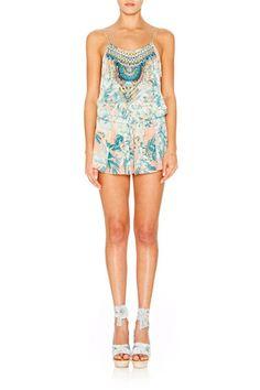 488159dd62 Camilla Garden of Dreams Shoestring Playsuit - Size 2