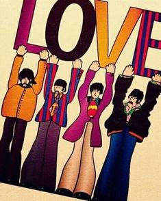 The Beatles, LOVE, Cirque du Soleil, The Mirage, Las Vegas. Beatles Love, Les Beatles, Beatles Art, Beatles Poster, Beatles Quotes, Ringo Starr, George Harrison, John Lennon, Paul Mccartney