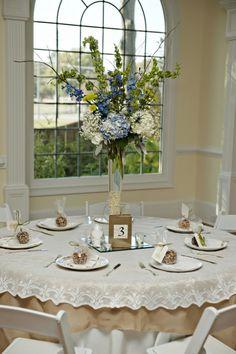 Wedding Reception Tall Floral Centerpeices