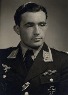 ✠ Heinrich Füllgrabe (26 July 1916 – 30 January 1945) killed by Soviet anti-aircraft fire near Brieg in Silesia.RK 02.10.1942 Oberfeldwebel Flugzeugführer i. d. III./JG 52