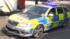London Police Car Skoda Octavia VRS Interceptor
