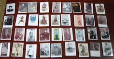 Ancestor cards for children - fun way to get children interested in genealogy and their own family tree.