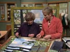 Get a sneak peak at Nancy Zieman and Natalie Sewells secrets for successful landscape quilting