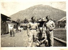 My uncle as a soldier in the Dutch collonies (Indië) late 40's