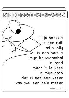 Deurposter 'De Snoepslang'. Meer lesmateriaal vind je onder het filmpje: http://onderwijsstudio.nl/product/a4-flipboek-de-snoepslang/