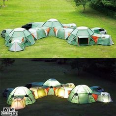 Wow, what a set-up! #camping #fun #outdoors