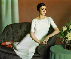 Marguerite Kelsey by Meredith Frampton (1894-1984)