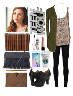 """Teen wolf-Lydia Martin inspired outfit"" by elisehart ❤ liked on Polyvore"