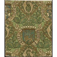 Nice baronial coronet, banner ideas Augustus Welby Northmore Pugin Wallpaper,