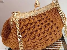 #Crochet Little Girls Handbag clutch Purse crochet TUTORIAL #67 - YouTube