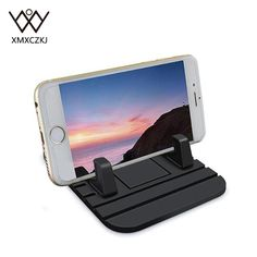 XMXCZKJ Universal Car Phone Holder Soft Silicone Anti-slip Car Phone Holder Bracket For iPhone Samsung For Xiaomi HTC Huawei * AliExpress Affiliate's buyable pin. Detailed information can be found on www.aliexpress.com by clicking on the image #PhoneHolders