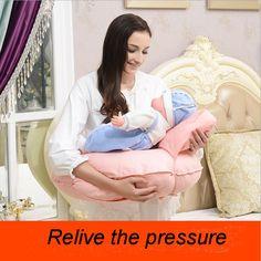 Multifunctional Infant Breastfeeding Pillow Baby Cuddle-U Nursing Pillow Mummy Waist Support Cushion Baby Seat Back Cushion Baby Boppy Pillow, Nursing Pillow, Breastfeeding Pillow, Cushions, Pillows, Cuddling, Bean Bag Chair, Infant, Baby Bedding