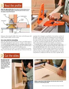 Making Frame and Panel Doors
