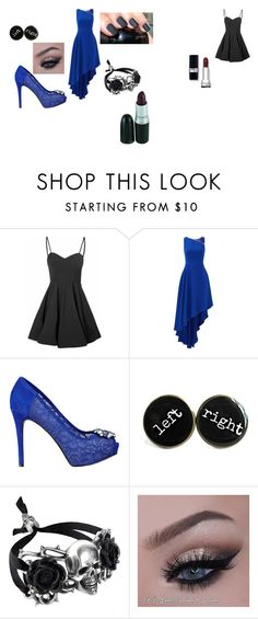 """Idek"" by jazzy21553 on Polyvore featuring Glamorous, Halston Heritage and GUESS"