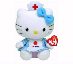 Hello Kitty I Love Japan Beanie Baby *** See this great product.Note:It is affiliate link to Amazon.