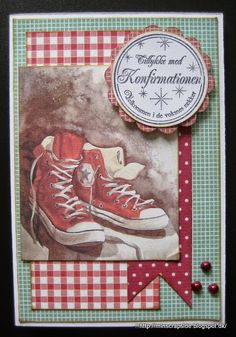 From Annette Koed Ancker in Denmark. Baby Mini Album, Star Cards, Boy Cards, Making Cards, Man Birthday, Card Maker, Big Shot, Masculine Cards, Mini Albums