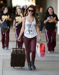 Krazy Fashion Rocks: Audrina Patridge Airport Style 2012
