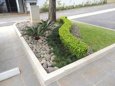 jardin con piedra
