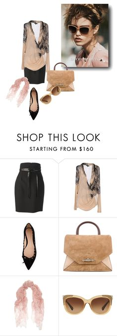 """put your coach glasses"" by sensual-spirit on Polyvore featuring Yves Saint Laurent, Etro, Gianvito Rossi, Givenchy, Valentino and Coach"