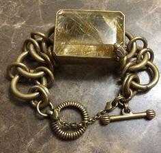 Stephen Dweck One Of A Kind Bronze Bracelet in Jewelry & Watches, Vintage & Antique Jewelry, Fine, Designer, Signed, Earrings | eBay