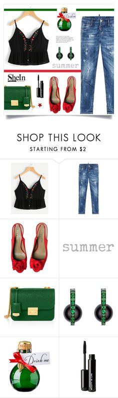 """""""Лето у двери^ с Shein.com"""" by miss-image ❤ liked on Polyvore featuring Dsquared2, Valentino, Henri Bendel and Beauty Is Life"""